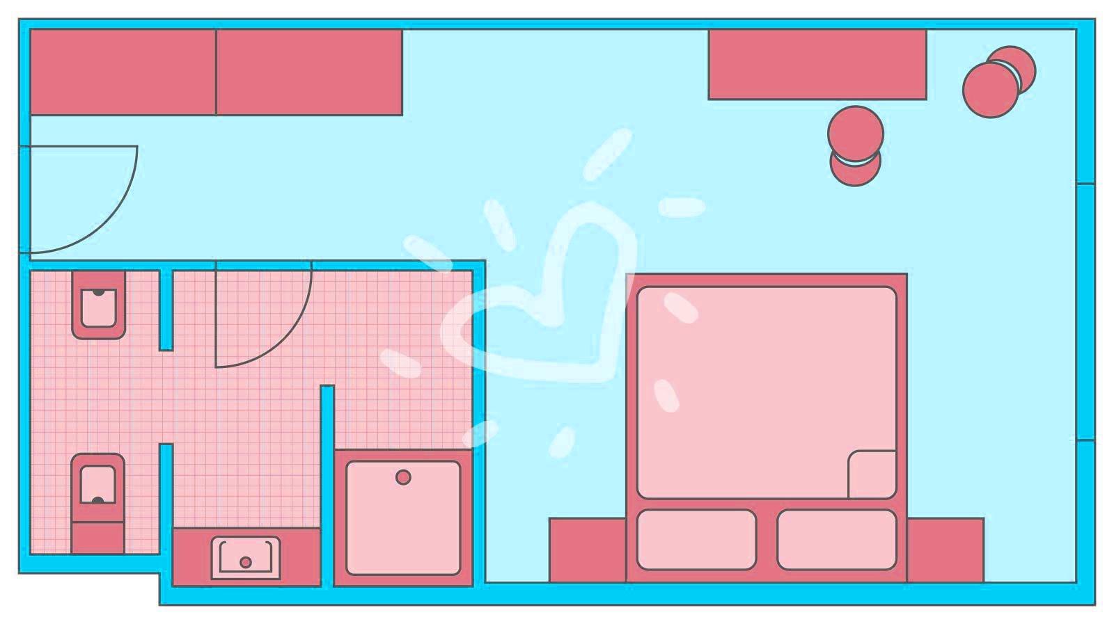 Doppelzimmer/ Einzelzimmer FLEX